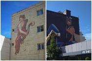 Μια πρώτη γεύση από τις δύο νέες τοιχογραφίες που δημιουργούνται στην Πάτρα!