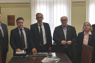 Συνάντηση του Νίκου Τζανάκου, με το Προεδρείο του Δικηγορικού Συλλόγου Πατρών!