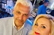 Η αστραφτερή Έμυ Λιβανίου Ζησιοπούλου στο πλευρό του υποψήφιου Φωκίωνα Ζαΐμη