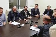Δυτική Ελλάδα: Συνάντηση του Νίκου Μπαλαμπάνη με το ΤΕΕ Αιτωλοακαρνανίας
