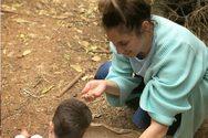 Η Αντιγόνη Ψυχράμη με τον 19 μηνών γιο της στο Αίγιο! (φωτο)