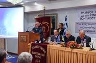 Ο Κρις Σπύρου μίλησε στην Πάτρα για την Γενοκτονία των Ποντίων (φωτο)