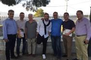 Περιοδεία των υποψηφίων της παράταξης του Γρ. Αλεξόπουλου σε Δρέπανο, Ρίο, Άγιο Βασίλη και Ψαθόπυργο (φωτο)