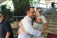 Ο Θανάσης Παπαθάνασης βρέθηκε στη Ναύπακτο και συνομίλησε με πολίτες!