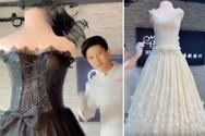Κινέζος ζαχαροπλάστης φτιάχνει γαμήλιες τούρτες σε σχήμα... νυφικού (video)
