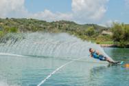 Μεσογειακοί Αγώνες: Στη λίμνη Στράτου θα διεξαχθεί το σλάλομ του θαλάσσιου σκι (φωτο)