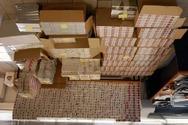Κατασχέθηκαν 11.000 πακέτα λαθραίων τσιγάρων στη Θεσσαλονίκη