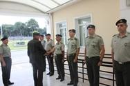 Επίσκεψη Διοικητή 1ης Στρατιάς/EU-OHQ στη Σχολή Πολέμου Στρατού Ξηράς (φωτο)