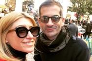 Κώστας Μπακογιάννης και Σία Κοσιώνη πάντρεψαν φιλικό τους ζευγάρι! (φωτο)
