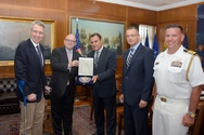 Συνάντηση του Νικόλαου Παναγιωτόπουλου με τον βοηθό Υπουργού Εξωτερικών ΗΠΑ Philip T. Reeker
