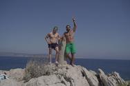 Σάκης και Λευτέρης περνούν μια μέρα μαζί στην παραλία (φωτο)