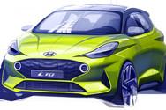 Τo πρώτο επίσημο σκίτσο του νέου Hyundai i10