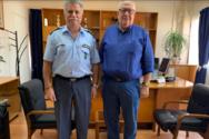 Εθιμοτυπική επίσκεψη του Γιώργου Τελώνη στο Γενικό Περιφερειακό Αστυνομικό Διευθυντή Δυτικής Ελλάδας