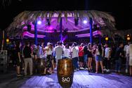 Aggelos Xiromeritis & Thanasis Salamalikis at Sao Beach Bar 08-08-19 Part 1/2