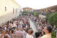 Πάτρα: Πλήθος πιστών στα Εγκώμια της Παναγίας στην Ιερά Μονή Γηροκομείου (φωτο)