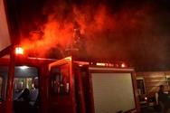 Πάτρα - Υπό μερικό έλεγχο η φωτιά που εκδηλώθηκε στα Συχαινά