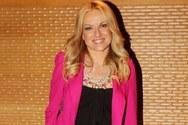 Η Μαρία Μπεκατώρου απολαμβάνει τις διακοπές της στην Κεφαλονιά
