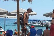 Επέστρεψε στην Κρήτη ο Κυριάκος Μητσοτάκης (φωτο)