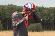 Ποδηλάτης έτρεξε με ταχύτητα 280 χλμ. την ώρα (video)