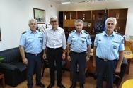 Ο Άγγελος Τσιγκρής επισκέφθηκε τη Γενική Περιφερειακή Αστυνομική Διεύθυνση Δυτικής Ελλάδας και την Διεύθυνση Αστυνομίας Αχαΐας
