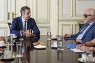 Ο Κυριάκος Μητσοτάκης συναντήθηκε με τον πρόεδρο της Ε.Σ.ΑμεΑ