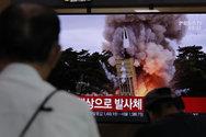 Νέες εκτοξεύσεις δύο «βλημάτων αγνώστου τύπου» από τη Βόρεια Κορέα