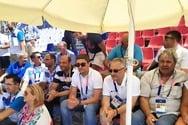 Στο πλευρό της Εθνικής Ελλάδος στην Πάτρα ο Λευτέρης Αυγενάκης
