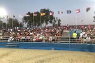 Πάτρα - Γεμάτες οι κερκίδες για την τελετή έναρξης των Μεσογειακών Αγώνων (φωτο)