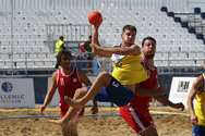 Beach Handball Aνδρών - Η Ελλάδα νίκησε την κάτοχο του τίτλου Τυνησία