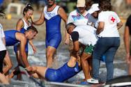 Πάτρα: Λαχτάρα με τη Βαρβάρα Στρατή στο Beach Rowing Sprint