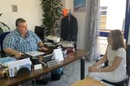 Χριστίνα Αλεξοπούλου: Άμεση επαναλειτουργία του Αράξου (φωτο)