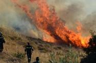 Αχαΐα: Ξέσπασε πυρκαγιά στο Λεχούρι Καλαβρύτων