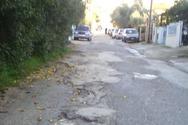 Πάτρα: Λακκούβες, χωματόδρομοι, ανύπαρκτα πεζοδρόμια στα Συχαινά