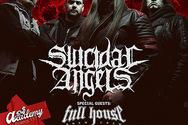 Suicidal Angels Live στο Piraeus 117 Academy
