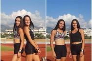 Τα δύο κορίτσια της Ολυμπιάδας Πατρών επέστρεψαν στις προπονήσεις