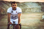 Στο βάθρο των νικητών, ο Αιγιώτης πρωταθλητής ποδηλασίας, Χρήστος Τσερεντζούλιας