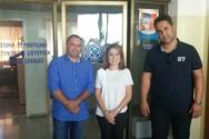 Συνάντηση Ένωσης Αστυνομικών Υπαλλήλων Αχαΐας με την Χριστίνα Αλεξοπούλου