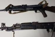 Ρέθυμνο: Κύκλωμα εμπορίας καλάσνικοφ πίσω από το γεμάτο με όπλα φορτηγό