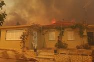 Εκτός ελέγχου η φωτιά στη Ζάκυνθο - Ζητήθηκε επίγεια πυροσβεστική δύναμη από την Πάτρα (φωτο+video)