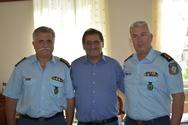 Πάτρα: O Κ. Πελετίδης συναντήθηκε με την τοπική ηγεσία της Αστυνομίας