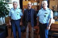 Επίσκεψη του Αντιπεριφερειάρχη Αχαΐας Χαράλαμπου Μπονάνου στη Γενική Αστυνομική Διεύθυνση Δυτικής Ελλάδας
