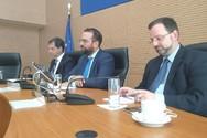 Ο υπουργός Τουρισμού Χάρης Θεοχάρης στην Περιφέρεια Δυτικής Ελλάδας (φωτο)