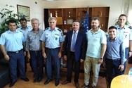 Εθιμοτυπική επίσκεψη του Δημάρχου Πηνειού στη Γενική Περιφερειακή Αστυνομική Διεύθυνση Δυτικής Ελλάδας