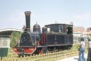 Η παλιά μηχανή στον ΟΣΕ της Πάτρας όταν δεν ήταν... κόκκινη!