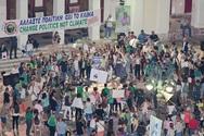 Η Πάτρα έστειλε ηχηρό μήνυμα για την Κλιματική Αλλαγή (φωτο)