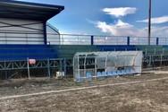 Συνεργεία του Δήμου Δυτικής Αχαΐας βρέθηκαν στο ποδοσφαιρικό γήπεδο της τοπικής κοινότητας Σαγαιΐκων