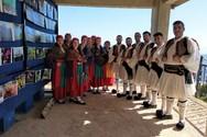 Το χορευτικό του Παγκαλαβρυτινού Συλλόγου στην Ροδαυγή Άρτας (φωτο)