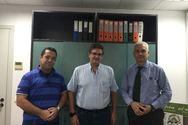 Πάτρα: Καθηγητές του Πανεπιστημίου Πελοποννήσου επισκέφθηκαν τον Φωκίωνα Ζαΐμη