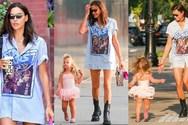 Irina Shayk - Εθεάθη στους δρόμους της Νέας Υόρκης με την κόρη της! (φωτο+video)