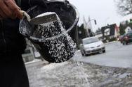 Αρχίζουν να προμηθεύονται αλάτι στην Κεντρική Μακεδονία